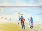 Pêcheurs à pied