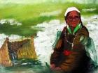 Femme tibétaine