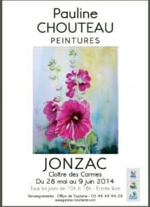 Pauline Chouteau exposition Jonzac