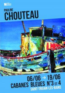 Pauline Chouteau - expo Saint-Trojan Oleron - Juin 2016