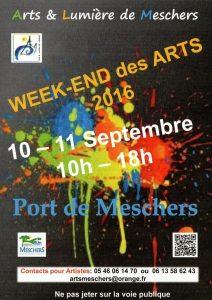 Week-end des arts 2016 Meschers