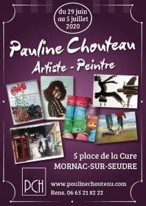 PaulineChouteau-Affiche Expo Mornac juillet 2020