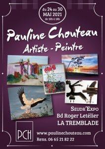 Pauline Chouteau-Affiche Expo La Tremblade mai 2021