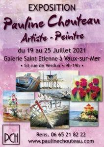 PaulineChouteau-Affiche Expo Vaux-sur-mer 2021